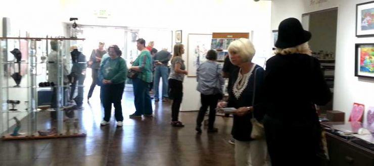 Brandon Gallery Visitors